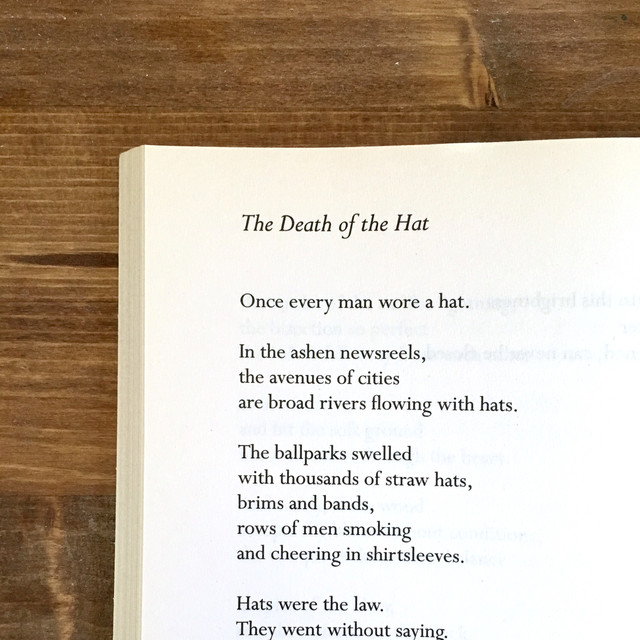 On The Death of Hats, and Other Truths
