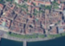 Vue aérienne du quartier Saint-Jean - Vieux Lyon