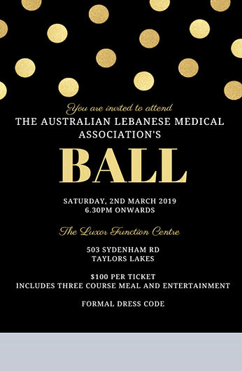 The Australian Lebanese Medical Association