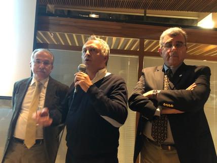 Drs. Renato Assad, Robert Nemer e Toufic Sleimen