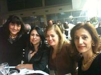 Senhoras das AMLB e amigas