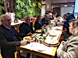 Jantar Mensal da AMLB