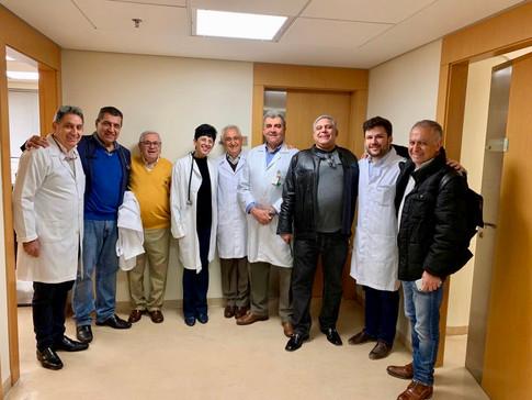 Equipe de voluntários médicos do Saha Brasil