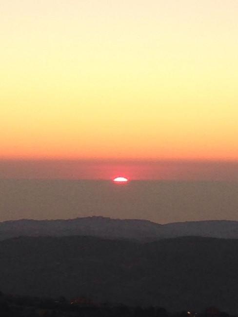 Pôr do Sol no Líbano
