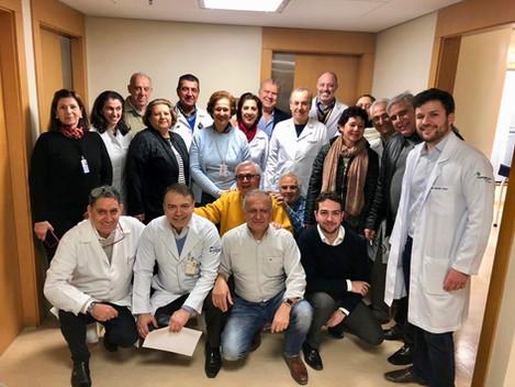 Equipe de Médicos da AMLB e Equipe do HCor