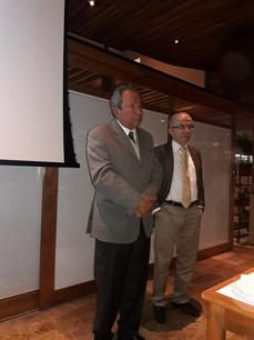 Prof. Edmund Baracat e Dr. Renato Assad