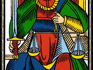 Interpretación de las cartas del tarot Desde mi experiencia profesional: La justicia número Vlll