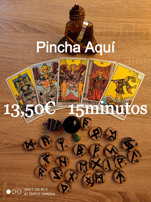 Consulta Telefonica 13.50€ 15minutos
