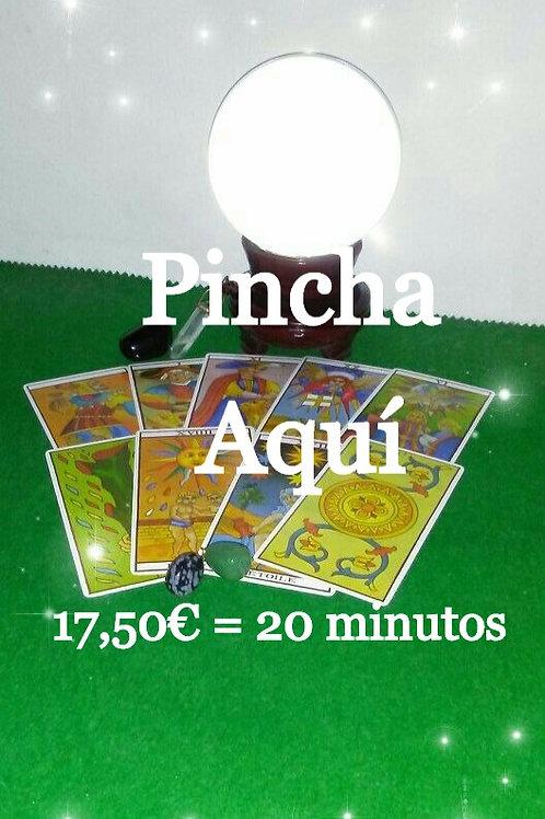 Consulta telefonica 17.50€ 20 minutos