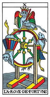 imagenes de la rueda de la fortuna tarot marselle