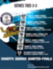 Copy of Hockey Game Flyer Poster Templat