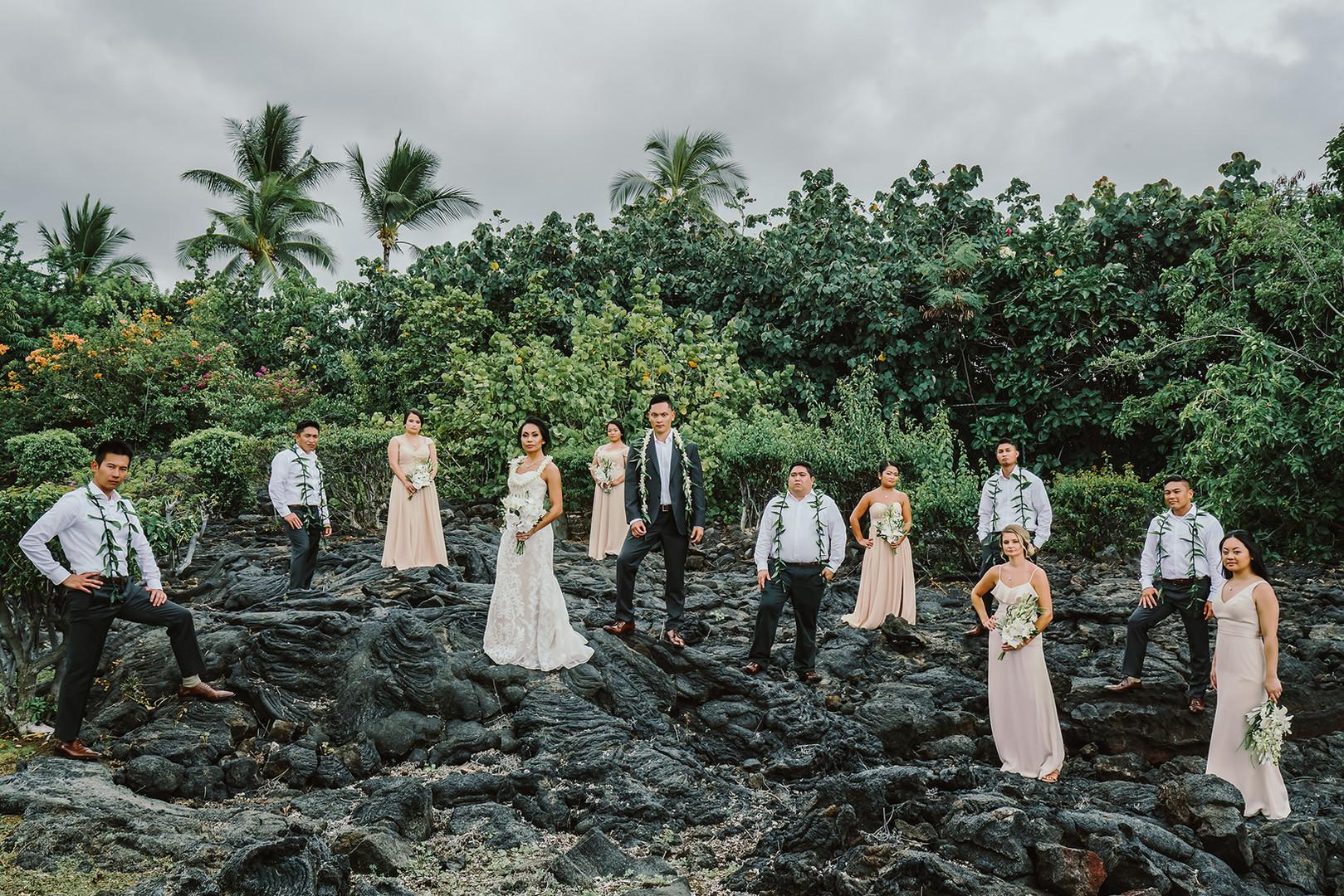 Lennie & Travis's Kona Destination Wedding