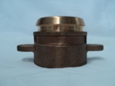 "NOW-012 - Brass Adaptor to Suit 1 1/2"" Overwing Nozzle"