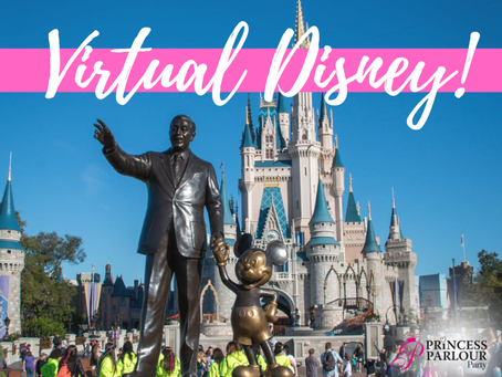 TAKE THE KIDS ON A VIRTUAL TRIP TO DISNEYLAND!