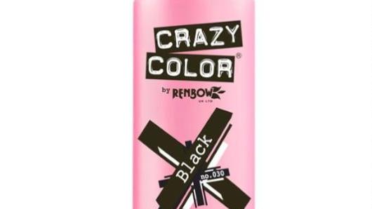Crazy Color - BLACK