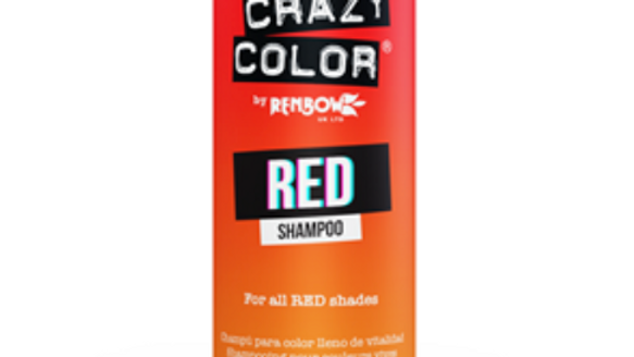 Crazy Color Vibrant Shampoo - RED