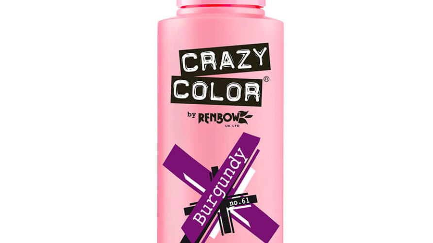 Crazy Color - BURGUNDY