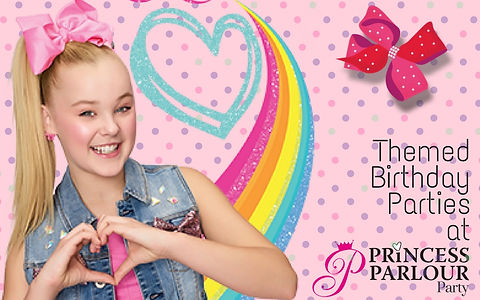 JOJO SIWA PARTIES PRINCESS PARLOUR GLAMOUR PRINCESS GIRLS PARTIES NORTH LAKES