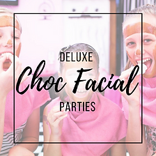 CHOC FACIAL PARTIES PRINCESS PARLOUR GLAMOUR PRINCESS GIRLS PARTIES NORTH LAKES