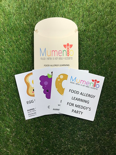 Allergy Learning Flash Card Game