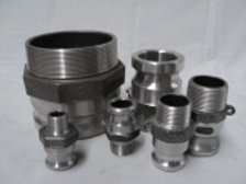 Male Camlock with Male BSP Thread Various Sizes Available