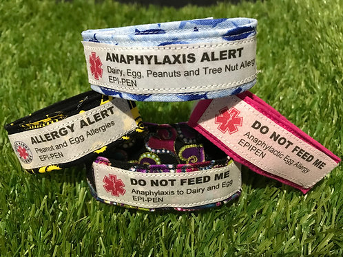 Medical and Allergy Wristband