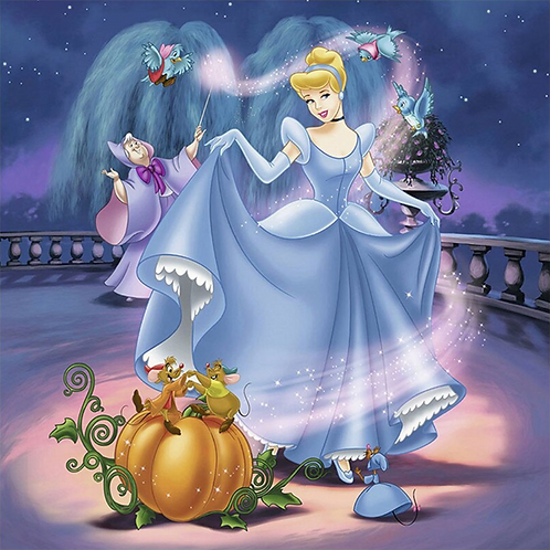 Diamond Painting Kit CINDERELLA