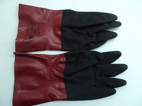 PPE-002 - Alphatec ecuff nitrile lined gloves size- 9