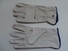 PPE-007 - Leather riggers gloves xcuff warrior size- XL