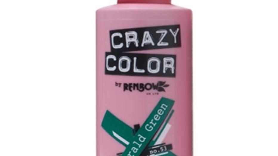 Crazy Color - EMERALD GREEN