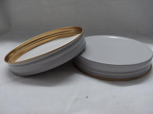 QC-028 - 95mm Aluminium Lid to suit 2 Litre Glass Jar