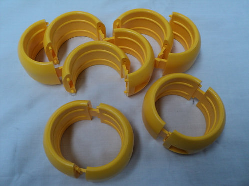 "HB-002 - 2"" Lock Clip Style Hose Beads"