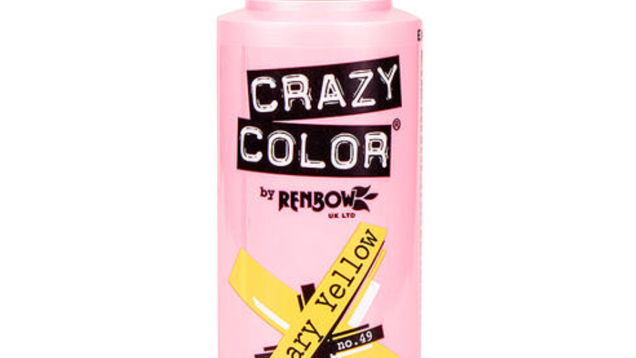 Crazy Color - CANARY YELLOW