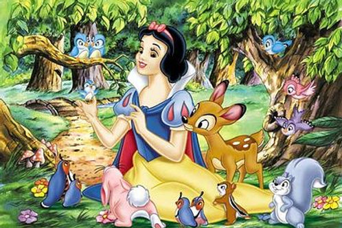 Diamond Painting Kit SNOW WHITE