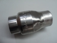 """SCP-002 - 1/2"""" Stainless Steel soft seat check valve"""