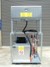 24 Volt Solar Powered Mobile Refuelling Unit