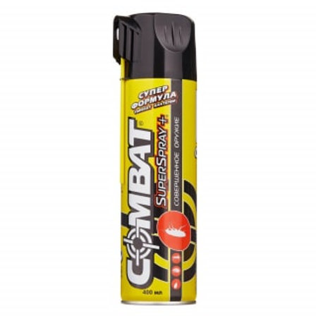 Combat (Комбат) Super Spray Plus аэрозоль, 400 мл