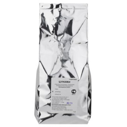 Цунами парафинированные брикеты (шоколад), 1 кг
