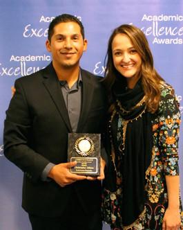 Chris Aldana, Academic Excellence 2016