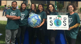 SES & Geography Students at WorldFest 2018