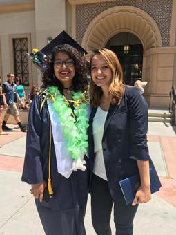 Julie Vazquez, 2017 Geography Grad