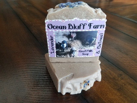 Four new Soaps in the shop!
