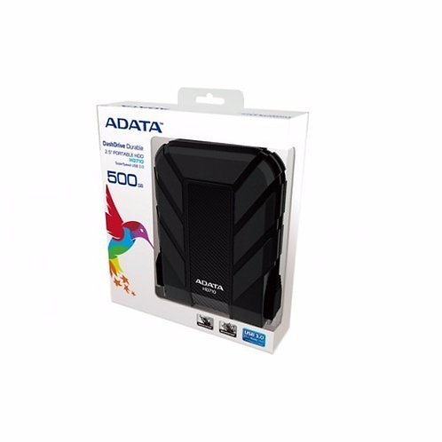 ADATA HD710 DISCO DURO EXTERNO 500GB  NEGRO