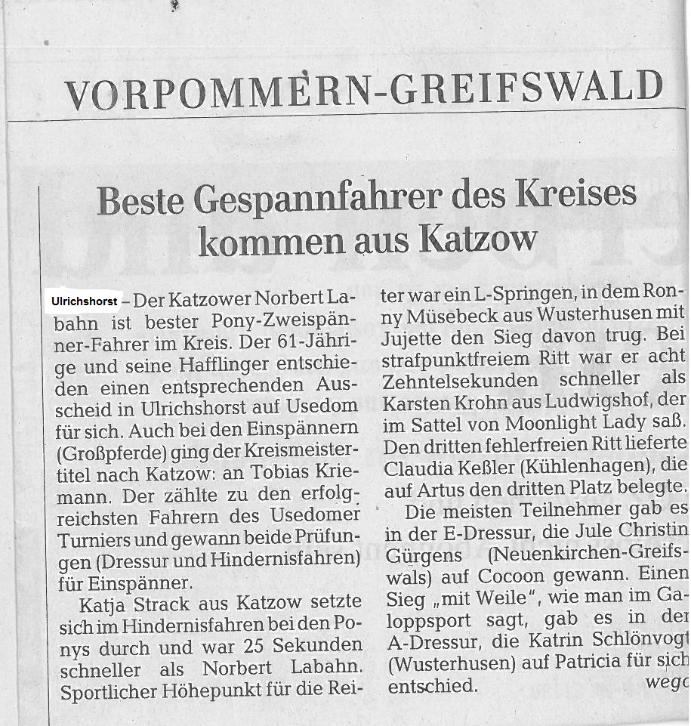 Ostsee-Zeitung 20.09.2012