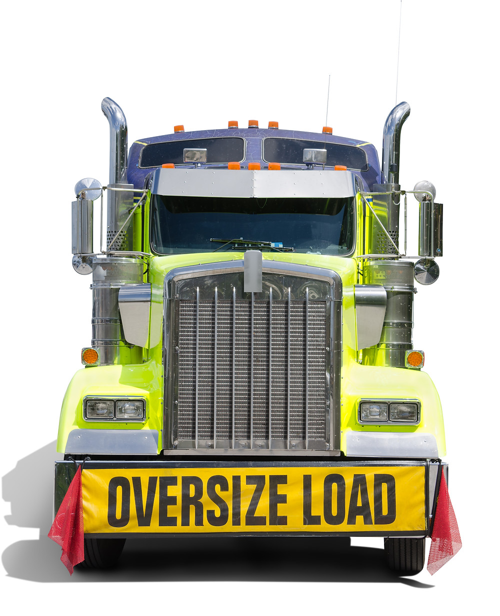 Oversize Load Truck Image
