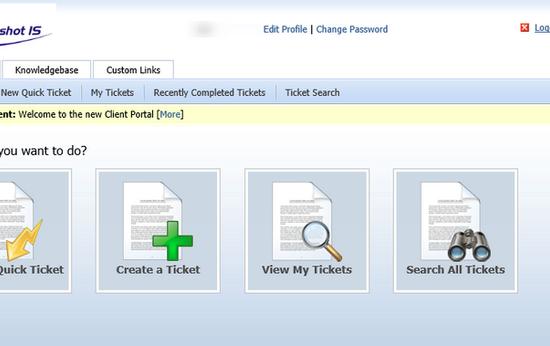 HelpDesk Web Portal