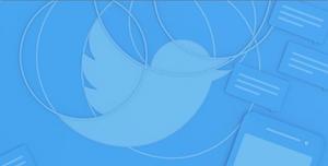 Twitter bird image - blue