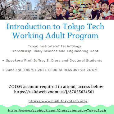 Working Adult Program