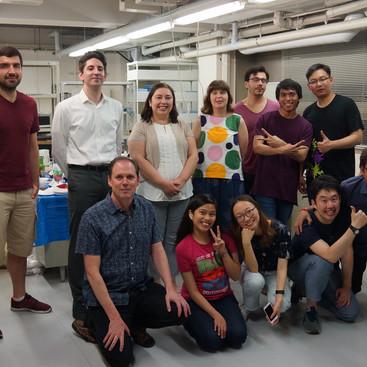 June Lab party