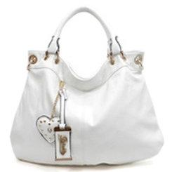 White Diva purse